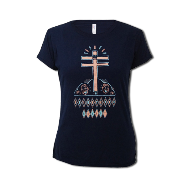Ladies Cross/Face T-Shirt