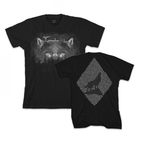 Dots-To-Lines Collaboration Wolf T-Shirt