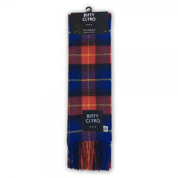 Official Biffy Tartan Lamb's Wool Scarf