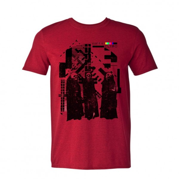 Test Card Red T-shirt