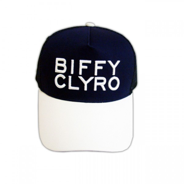Biffy Clyro Navy Trucker Cap