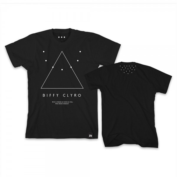 Biffy Clyro - Triangle Of Life T-Shirt* Team Biffy Exclusive