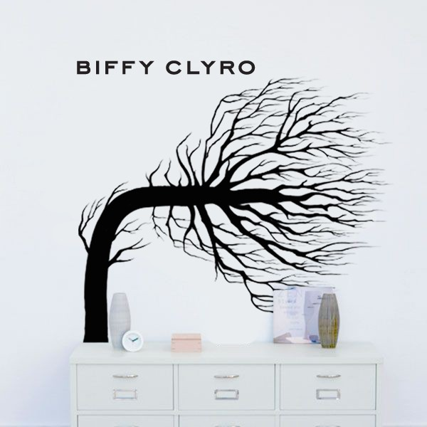 Opposites Tree Wall Art Vinyl Sticker