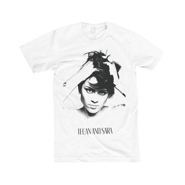 Tegan and Sara Faces Slim Fit T-Shirt