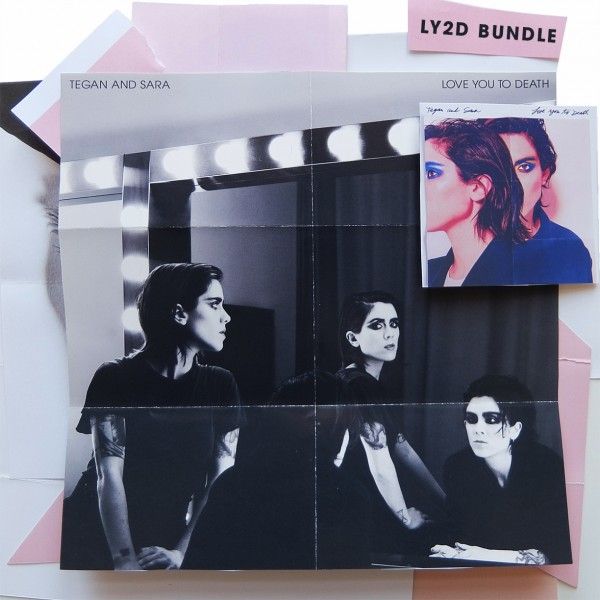 Tegan & Sara LY2D Vinyl with Signed Poster