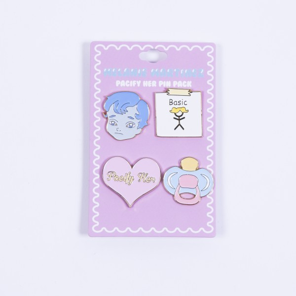 Pacify Her Pin Pack