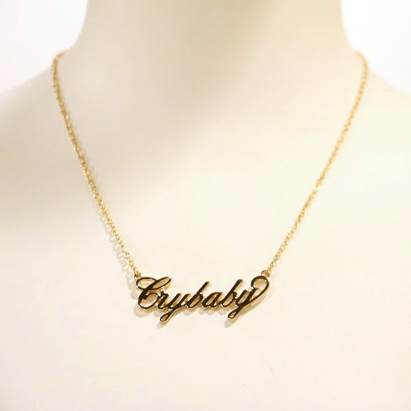 Crybaby Necklace