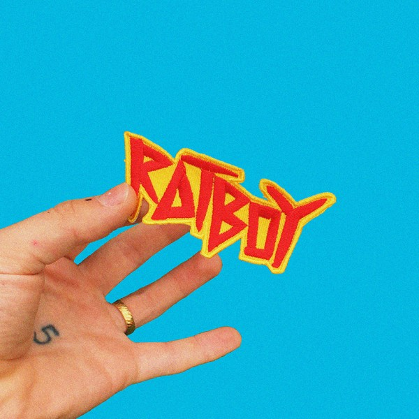 Rat Boy Red Yellow Patch