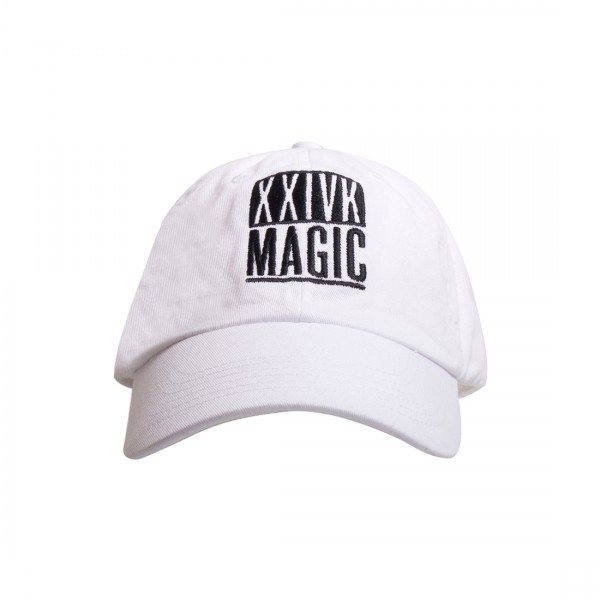Magic Block Dad Hat (White)