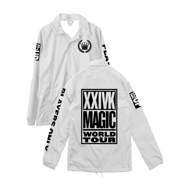 WORLD TOUR JACKET WHITE