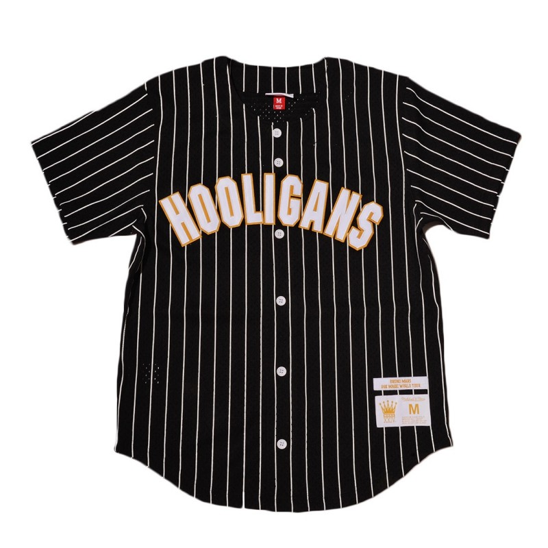 Bruno Mars Hooligans Jersey (Black)