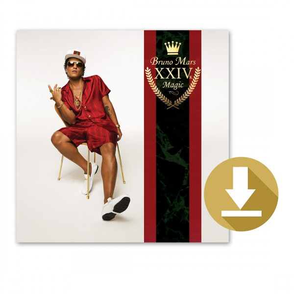 Bruno Mars 24K Magic Digital Album