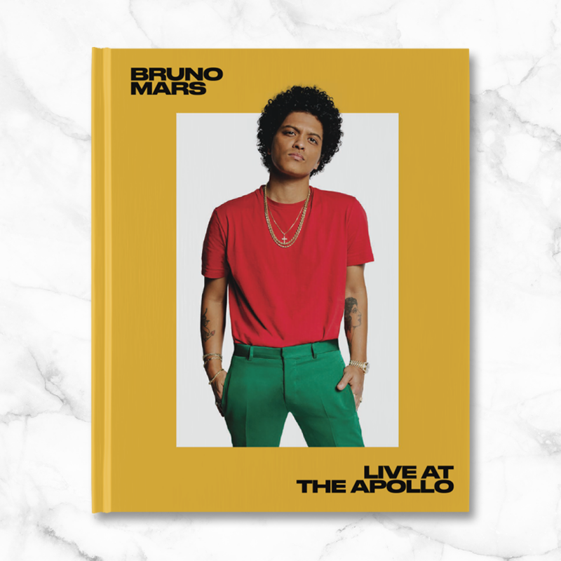 Bruno Mars - Live At The Apollo Book