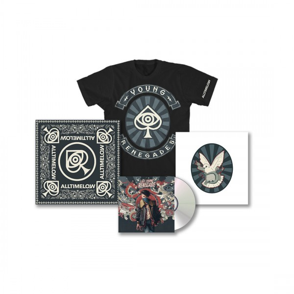 All Time Low Last Young Renegade Deluxe CD Bundle