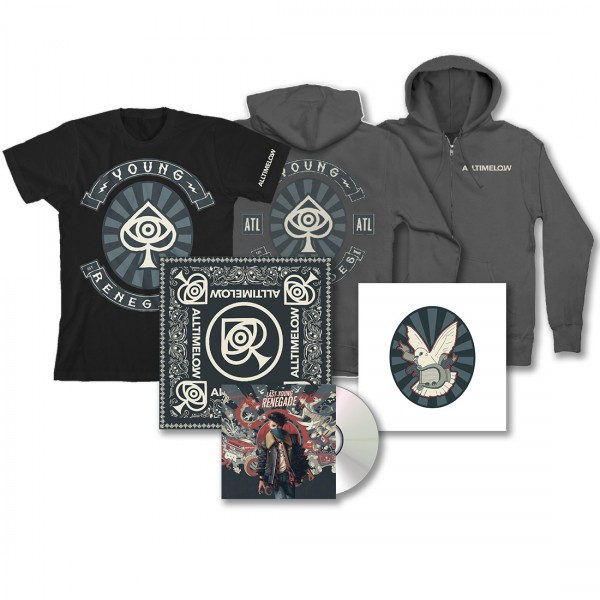 All Time Low Last Young Renegade Ultimate CD Bundle