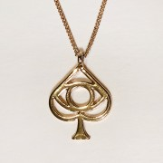 Spade Necklace (Gold)