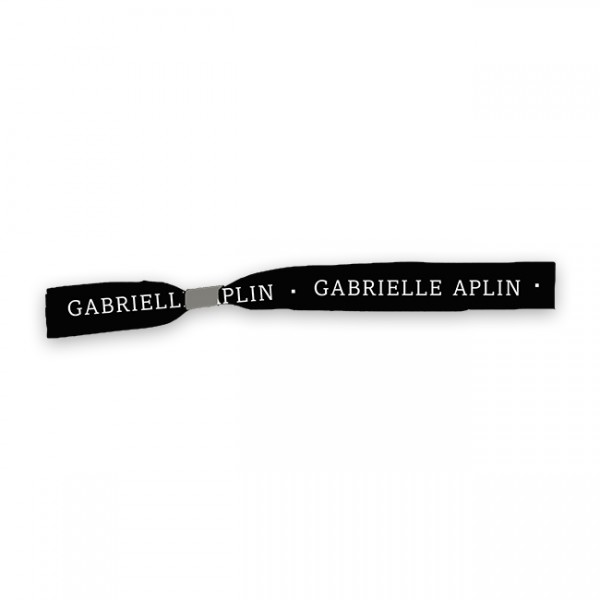 Black Logo Wristband