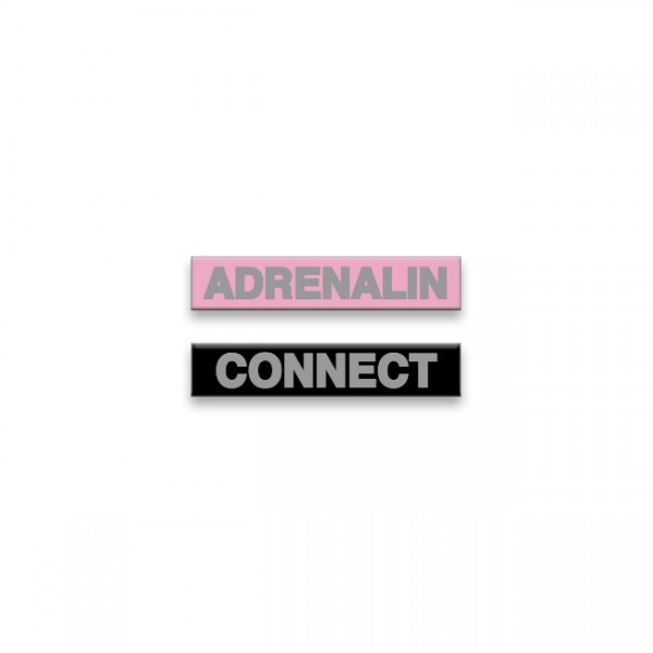 Adrenalin Baby Badge Set
