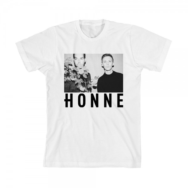 HONNE BAND T-SHIRT - FLOWERS