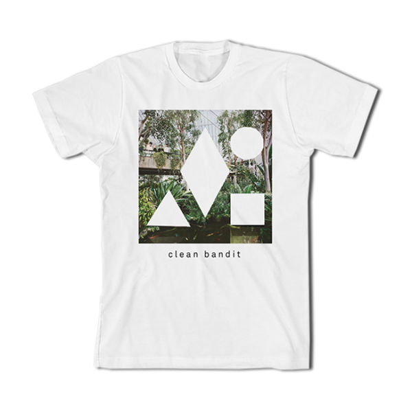 Clean Bandit New Eyes 2015 Tour Tee