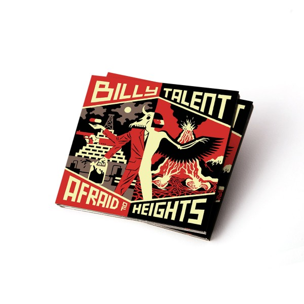 Billy Talent Afraid of Heights Deluxe CD