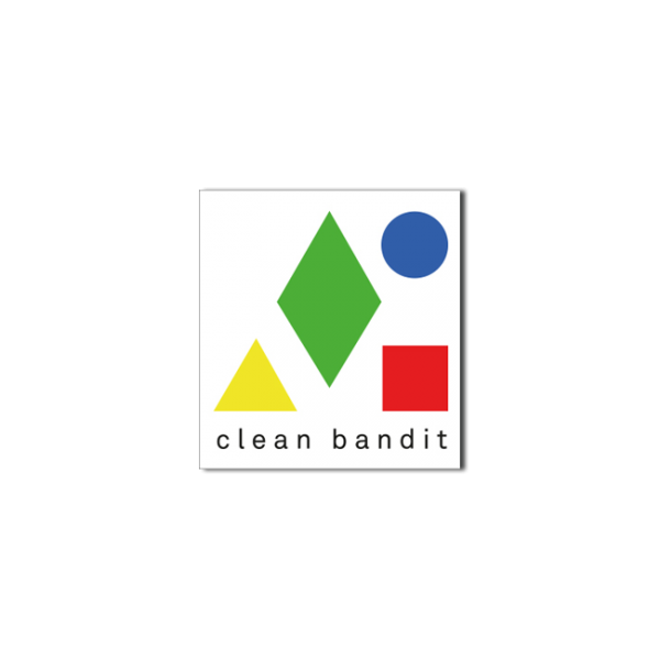Clean Bandit Logo Stickers