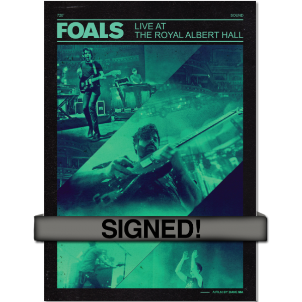 Live at the Royal Albert Hall SIGNED!