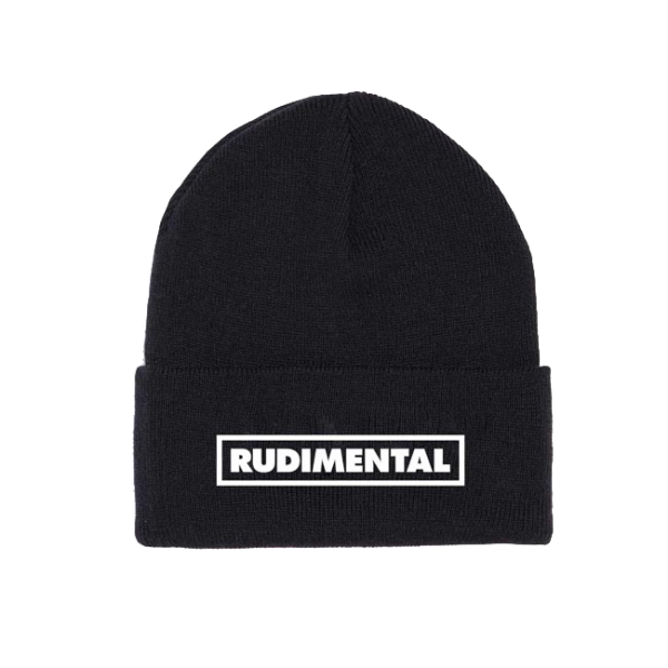 Black Logo Ski-hat