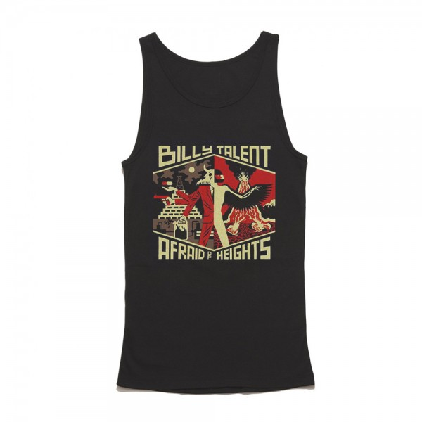 Billy Talent Afraid of Heights Black Unisex Tank Top