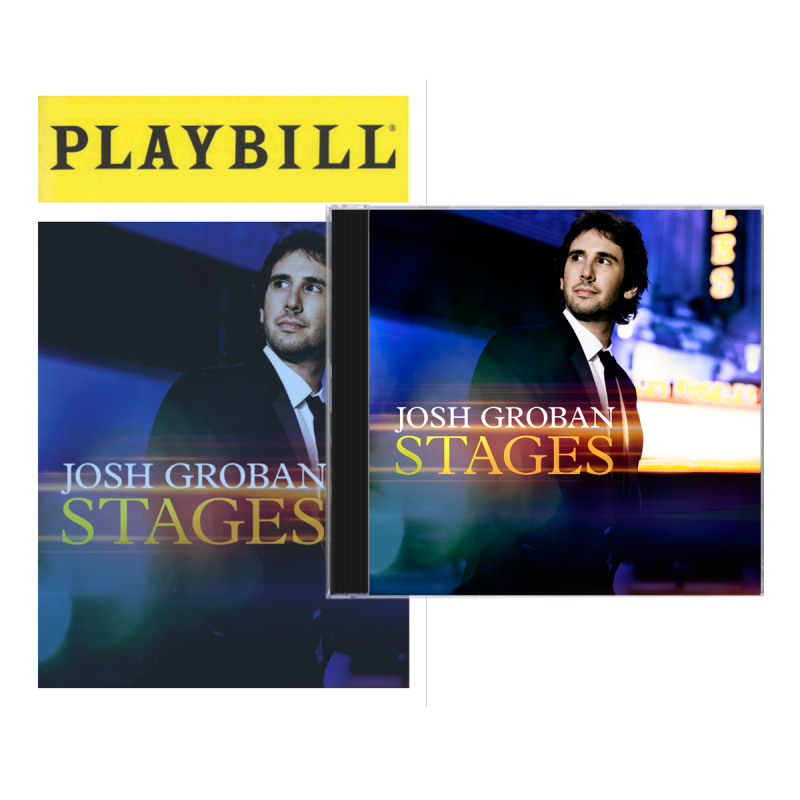 Josh Groban Stages + Playbill Booklet