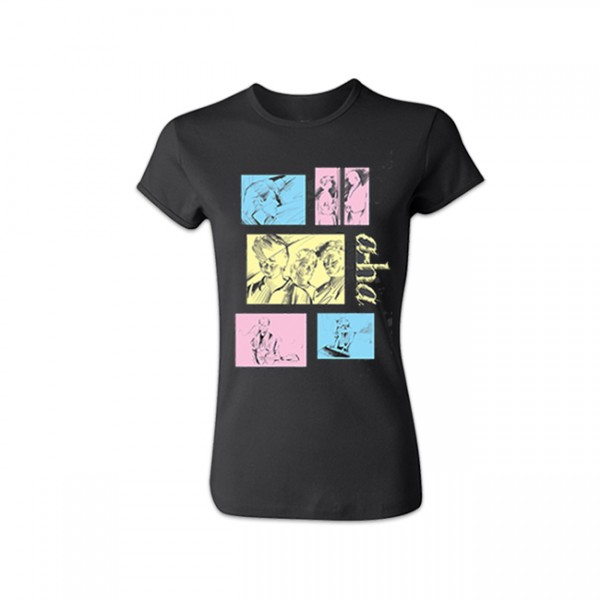 Take On Me Ladies T-Shirt