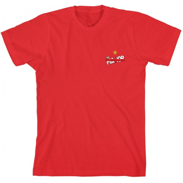 The Manor Badge Red T-Shirt