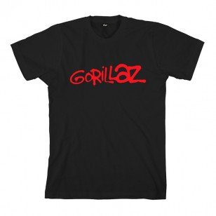 Graffiti Logo Black T-Shirt