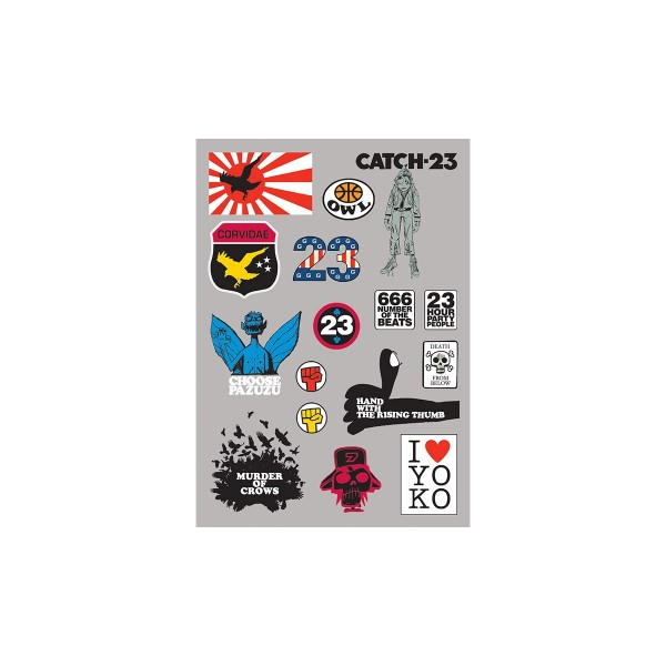 Catch-23 Sticker Set