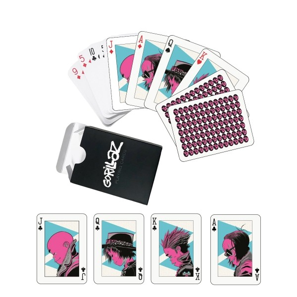 The Now Now Playing Cards