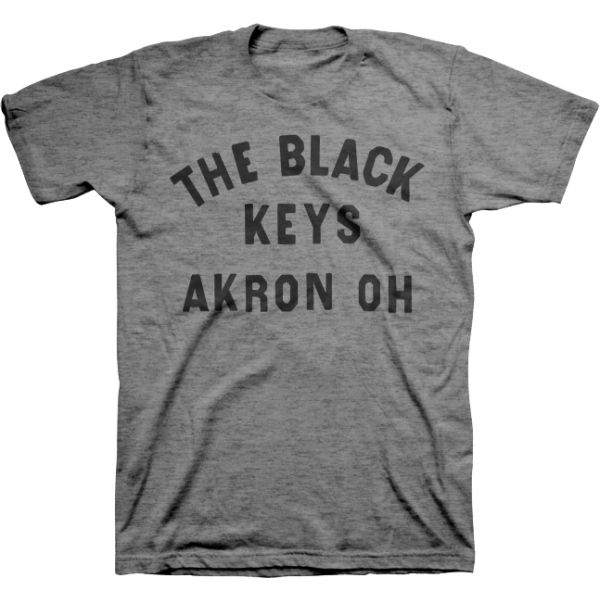 Heather Grey Akron OH T-Shirt