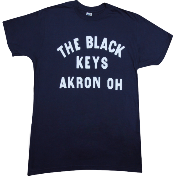 Navy Akron OH T-Shirt