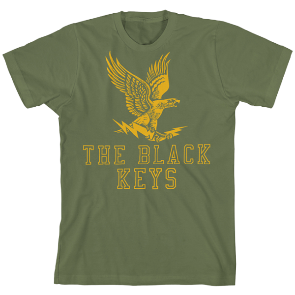 Green Lightning Eagle T-Shirt