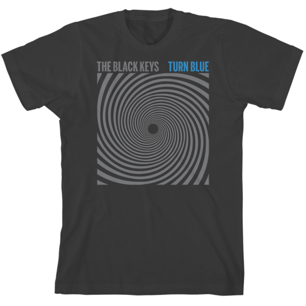 Grey Square Spiral T-Shirt