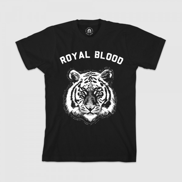 Arch Six Eyed Tiger T-Shirt - Royal Blood Band Store