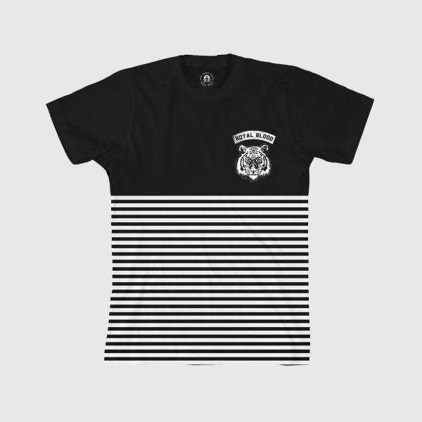 Royal Blood Band Striped T-Shirt