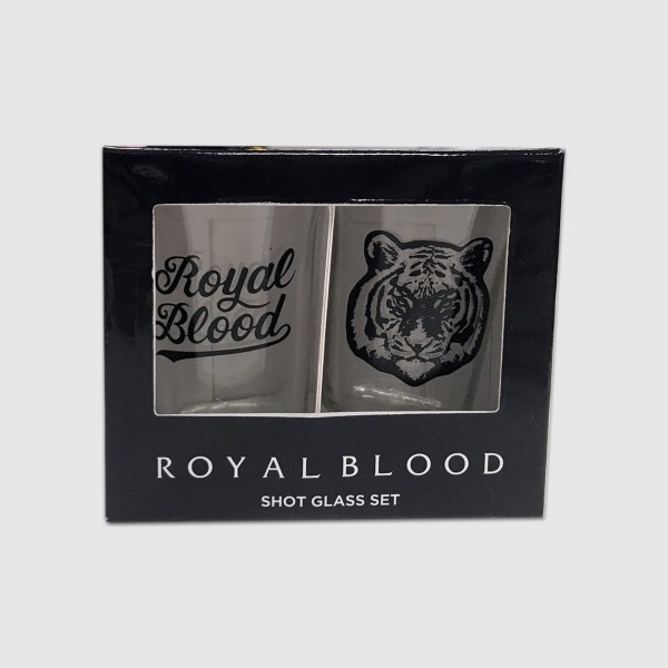 Royal Blood Band Shot Glass Set