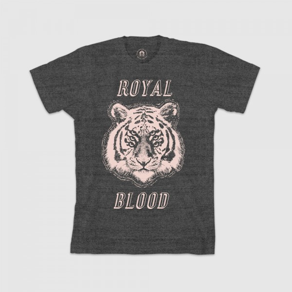 Stacked Tiger T-Shirt - Royal Blood Store