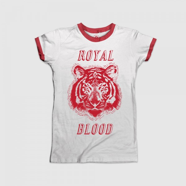 Royal Blood - Six Eyed Tiger T-Shirt