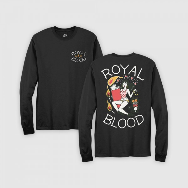 Royal Blood Store - Lighter Long Sleeve T-Shirt 1