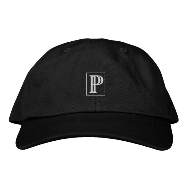 P Square Embroidered Dad Hat