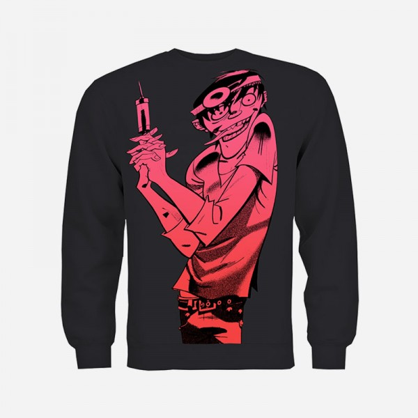 Twisted Murdoc Black Sweatshirt
