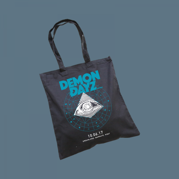 Demon Dayz Festival Black Tote