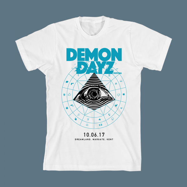 Demon Dayz Festival White T-Shirt