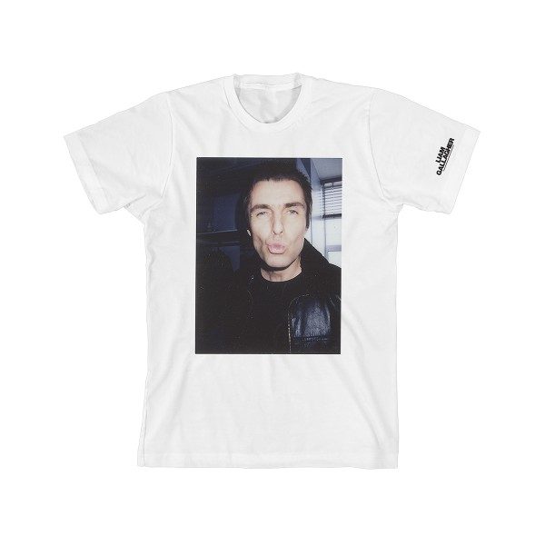 Tour Portrait T-Shirt - Liam Gallagher Merch